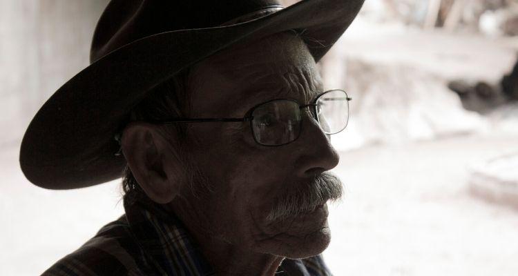 Cowboy in closeup