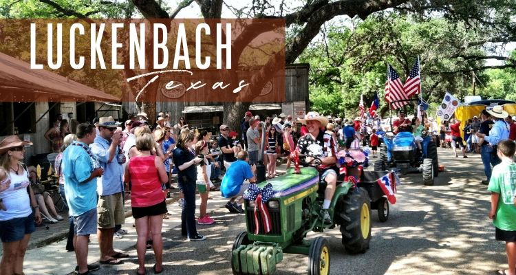 CWS 4th of July in Luckenbach TX