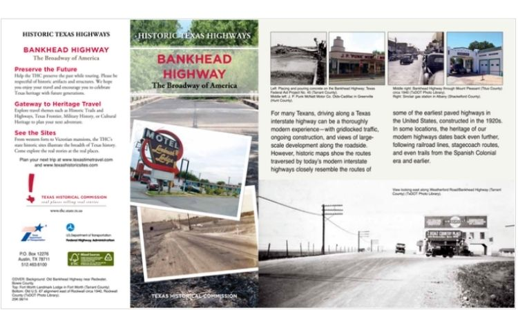 Bankhead Highway Brochure