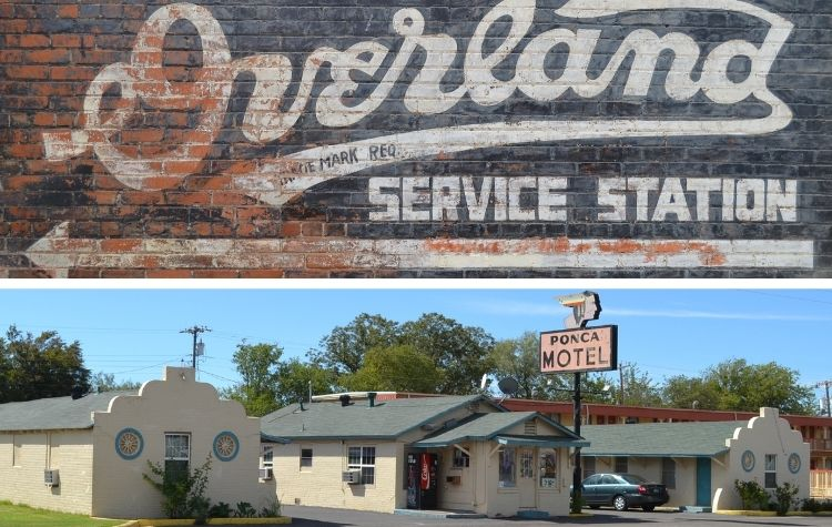motel and service station on bankhead in abilene